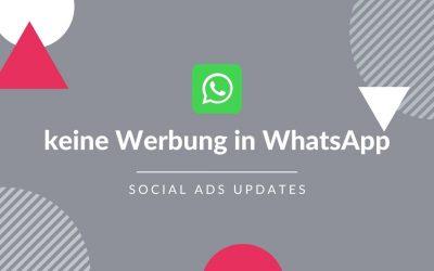 WhatsApp bleibt werbefrei